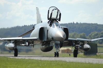 F-4F Phantom of the German Air Force-Stocktrek Images-Photographic Print