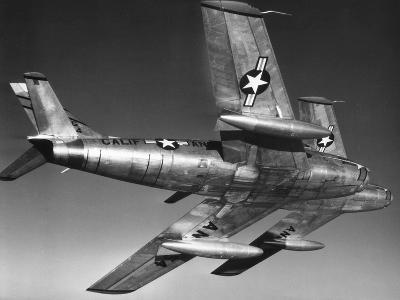 F-86 Jet Fighter Plane--Giclee Print