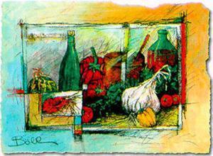 Garlic by F. Bohl