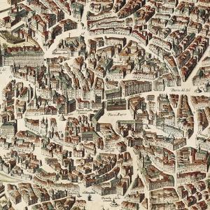 Map of Madrid by F. de Witt