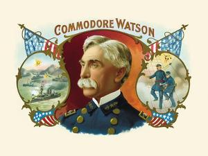 Commodore Watson by F. Gutekunst
