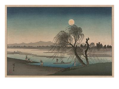 F?keiga-Ando Hiroshige-Art Print