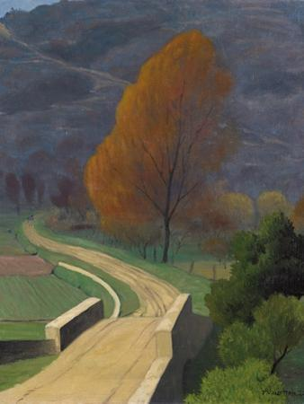Bridge over the Beal, 1922 by F?lix Vallotton