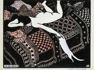 La Paresse, 1896 by F?lix Vallotton