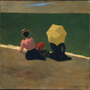 On the Beach, 1899 by F?lix Vallotton