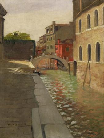 Rio Della Salute, Venice, c.1902 by F?lix Vallotton