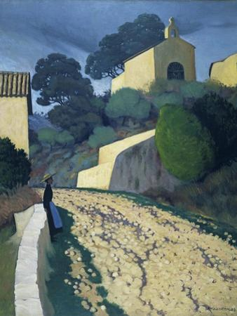 Road at St Paul (Var) by F?lix Vallotton