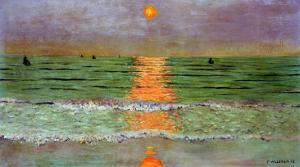 Sunset, 1913 by F?lix Vallotton