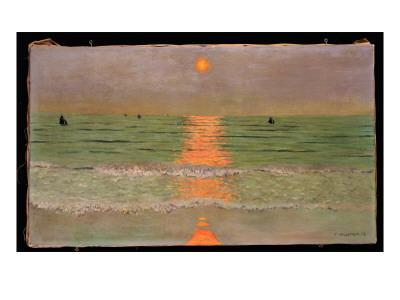 Sunset, 1913