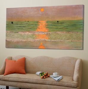 Sunset by F?lix Vallotton