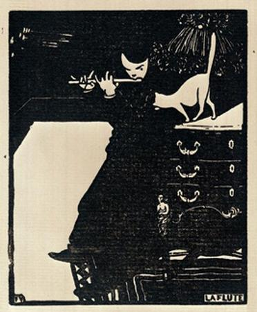 The Flute, 1896 by F?lix Vallotton
