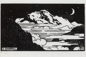 The Jungfrau, 1892 by F?lix Vallotton