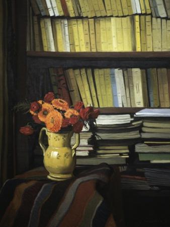 The Library by F?lix Vallotton