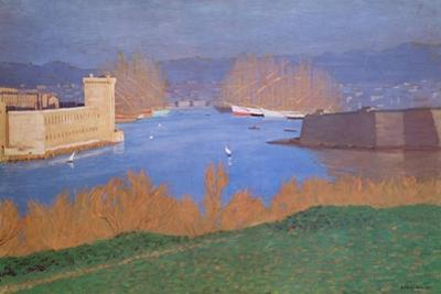 The Port of Marseille, 1901 by F?lix Vallotton