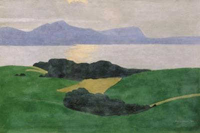 The Saleve and the Lake, 1900 by F?lix Vallotton