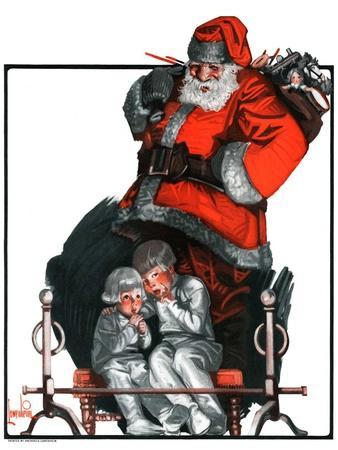 """Santa Overhears,""December 22, 1923"