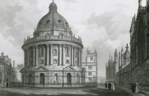 Radcliffe Camera, Oxford by F Mackenzie