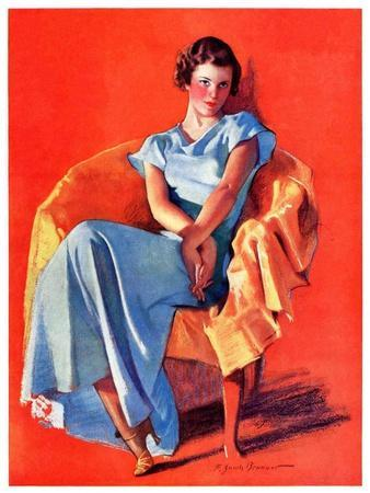 """Woman in Chair,""September 1, 1934"
