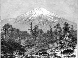 Mount Fuji, Japan, 19th Century by F Schrader