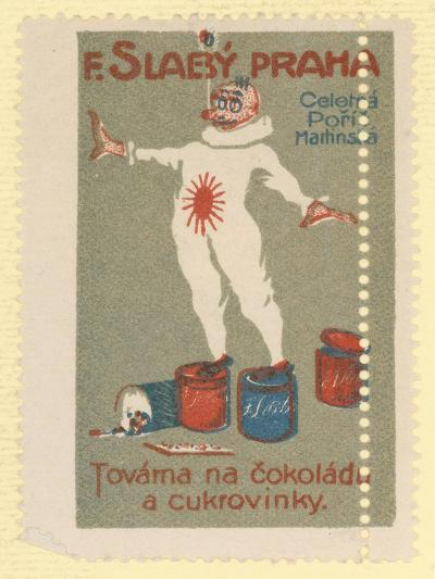 F Slaby Chocolate and Sugar Confectionery Factory, Prague--Giclee Print