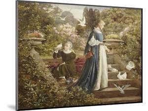 Feeding the Doves by F. Sydney Muschamp