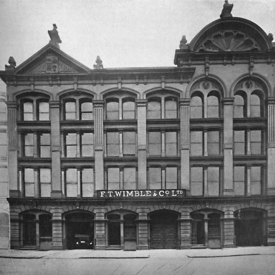 'F. T. Wimble & Co., Ltd. - Head Office, Warehouse and Factory', 1919.-Unknown-Photographic Print