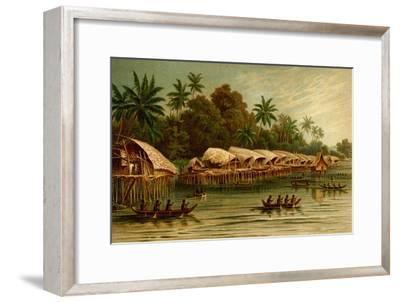 Village on Stilts - New Guinea