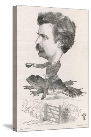 Mark Twain, Riding Frog