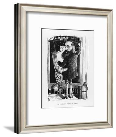 Wilkie Collins English Novelist: a Satire on His Popular Novel the Woman in White