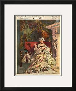 Vogue Cover - March 1913 by F.x. Leyendecker