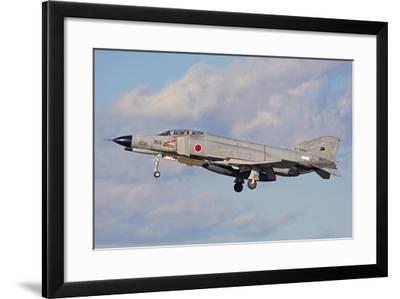 F4-E Phantom of the Japan Air Self-Defense Force-Stocktrek Images-Framed Photographic Print
