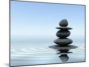 Zen Stones In Water by f9photos