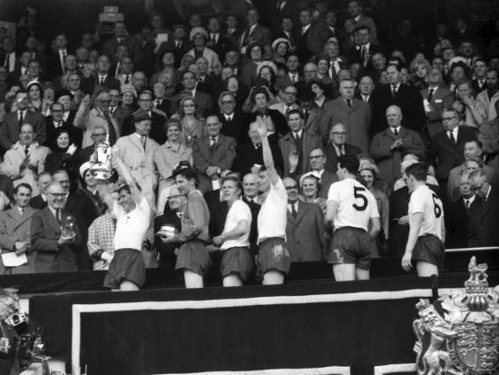 FA Cup Final at Wembley Stadium, Tottenham Hotspur vs Burnley--Photographic Print