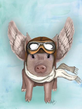 Aviator Piggy by Fab Funky