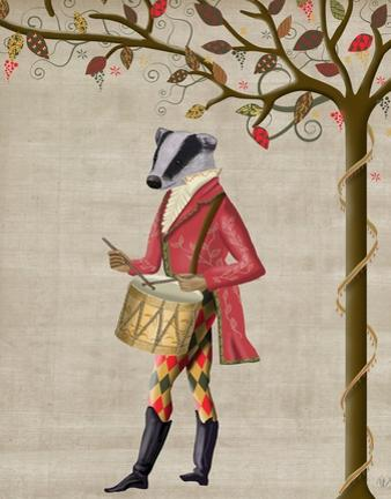 Badger Minstrel by Fab Funky