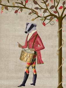 Badger Minstrel by Fab Funky
