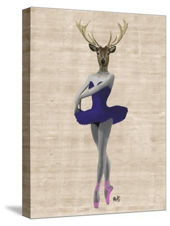 Ballet Deer in Blue