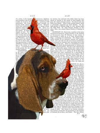 Basset Hound and Birds