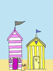 Beach Huts 3 by Fab Funky