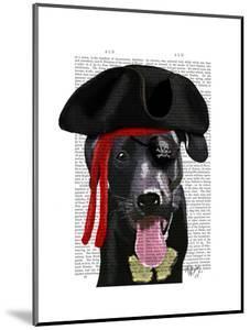 Black Labrador Pirate by Fab Funky