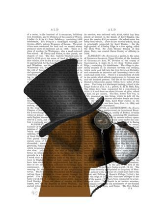 Boxer, Formal Hound and Hat by Fab Funky