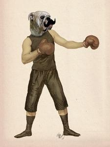 Boxing Bulldog Full by Fab Funky