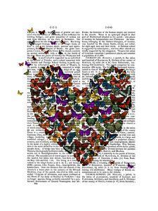 Butterfly Heart by Fab Funky