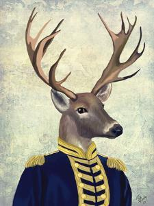 Captain Deer by Fab Funky