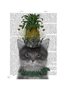 Cat, Pineapple Puss by Fab Funky