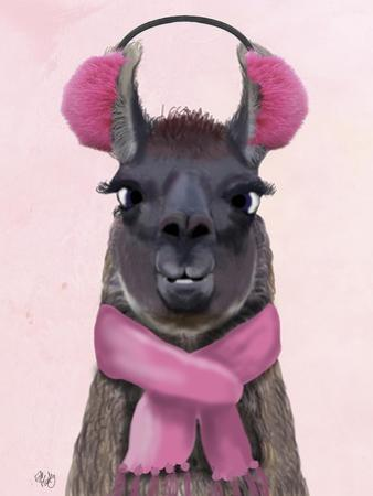 Chilly Llama Pink by Fab Funky