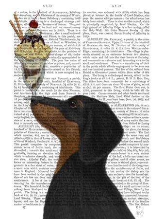 Dachshund, Black and Tan, Ice Cream by Fab Funky