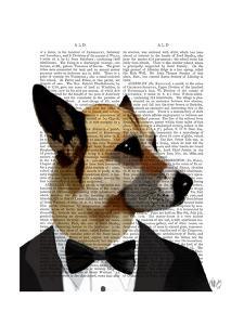 Debonair James Bond Dog by Fab Funky