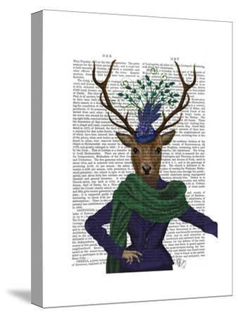 Deer and Fascinator by Fab Funky