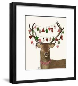 Deer, Homespun Decorations by Fab Funky